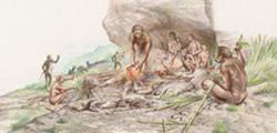 Homo erectus or Peking Man