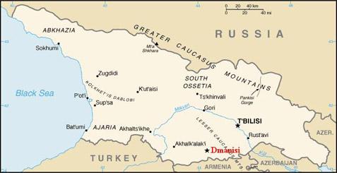 Dmanisi Map