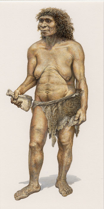 Neanderthal Female