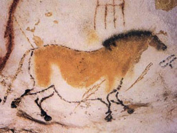 Horse Painting at Lascaux Cave, France
