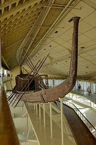 Khufu ship at Giza, Egypt