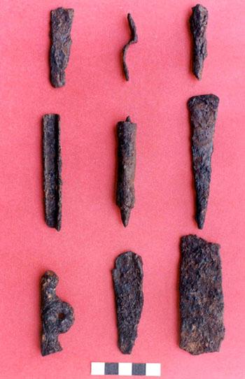 Iron artifacts, India