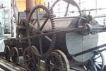 First steam locomotive engine