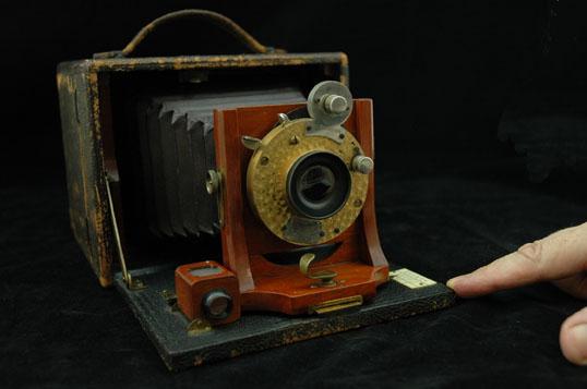 Early box camera