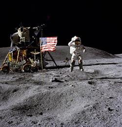 Apollo 16 Lunar Landing, 1972