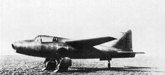 First jet plane