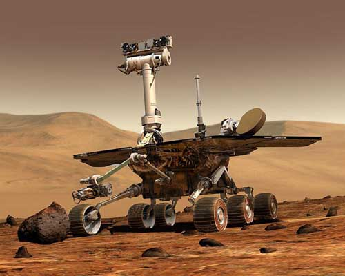 image of the mars rover